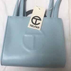 Telfar Small Pool Blue Shopping Bag